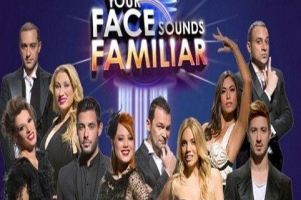 Your face Sounds familiar - Δέκα Έλληνες καλλιτέχνες μεταμορφώνονται κάθε Κυριακή σε αστέρες της ελληνικής και παγκόσμιας μουσικής σκηνής