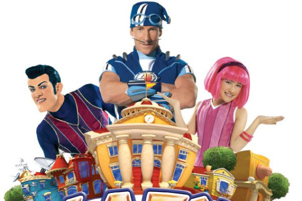 Lazy town - Η Στέφανι και η παρέα της λένε κάτω η τεμπελιά